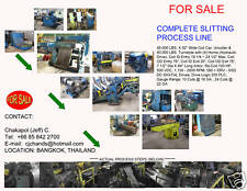 "Coil Slitter Steel metal Slitting slit machine Line - 45,000 Lb x 62"" wide, 10G"