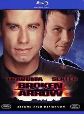 BROKEN ARROW New Sealed Blu-ray John Travolta Christian Slater