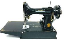 New ListingVintage Singer Featherweight 221-1 Sewing Machine w/Case & Acces. Ae413997