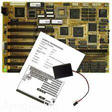 386 DX Motherboard P386, Chips & Technologies 0WS Chipset  für 386DX 25MHz CPU