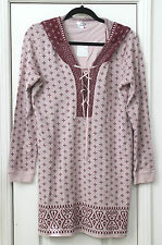 Women's size Large  hooded Plum lounging top by Intimately Free People NWT