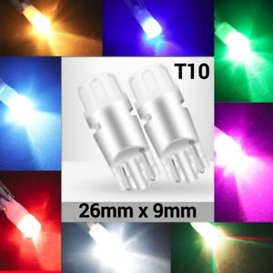 License Plate Light T10 W5W 168 194 2825 Colorful LED Canbus K1 For Scion H
