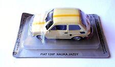 FIAT 126P NAUKA JAZDY - Die cast 1/43 EUROPA DELL'EST