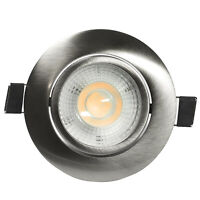 LED Spot Encastré Plat Intensité Variable 7 Watt Blanc Chaud