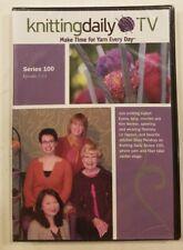 Knitting Daily TV Series 100, Episodes 1-13.  Eunny Jang (4 DVD set) Sealed