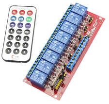 8 Channel IR Remote Control Module Control remote Rele Relay