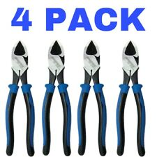 4 PACK Klein Tools 9 in. Heavy Duty Diagonal Cutting Pliers Model J200059