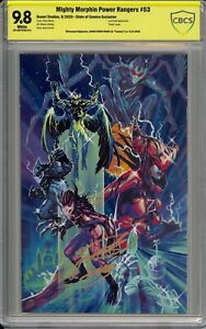 Mighty Morphin Power Rangers 53 SOC 9.8 Signed By JDF