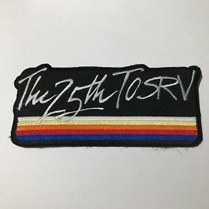 Tour Of The Scioto River Valley TOSRV Collectible Iron On Patch OH Vintage 1986