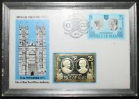 1973 | Isle Of Man FDC w/Ingot | First Day Covers | KM Coins