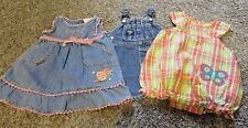 Set of 3 Cute Newborn Outfits, Sizes 3 ~ 6 ~ 9 Months
