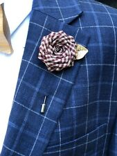 Rose Flower Lapel Pin Red Enamel Pin Men Women Wedding Suit Pin Brooch Pin