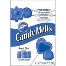 Royal Blue Wilton Candy Melts 12 oz Molds Holiday Vanilla Flavor
