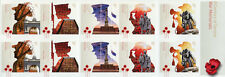 Australia 2018 MNH WWI WW1 War Memorials 10v S/A Booklet Poppy Military Stamps