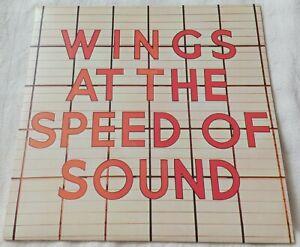 "Wings - Wings At The Speed Of Sound - 1976 12"" Vinyl Album"