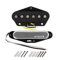 OriPure Alnico 5 Tele Electric Guitar Pickups Neck Bridge Pickup Set Single Coil