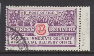 NEW ZEALAND 1936 USED SG #E3 PERF 14X15 SPECIAL DELIVERY CAT £60