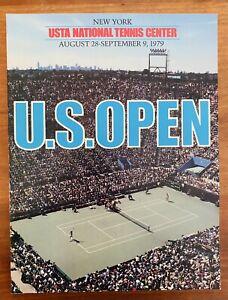 1979 Tennis US Open Program / McEnroe / Evert / Borg / Conners / King / Ashe