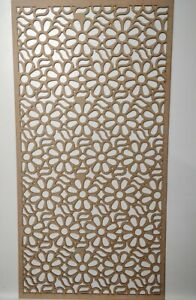 Radiator Cabinet decor. Screening Perforated 3mm & 6mm thick MDF laser cut SL1
