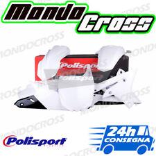 Kit plastiche cross mx POLISPORT Bianco YAMAHA YZ F YZF 250 2018 (18)!