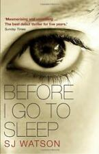 Before I Go To Sleep - S J Watson - Black Swan - Acceptable - Paperback