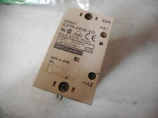 OMRON SOLID STATE RELAY -- 24...240VAC 40amps -- 5..24DC Coils -- G3PA-240B-VD