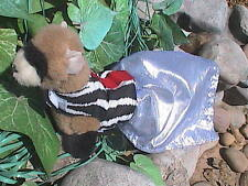 Ferret Harness Dress - Zebra Prom