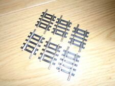 Collection of R610 Nickel Silver Short Straights for Hornby OO Gauge Train Sets