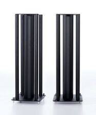 KEF LS50 Official Speaker Stands PAIR Loudspeaker Custom Design Black