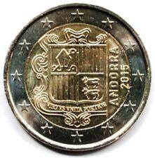 Andorra 2 euro 2015 Regular coin (#2590)