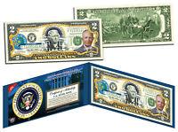 DWIGHT D EISENHOWER * 34th U.S. President * Colorized $2 Bill Legal Tender IKE