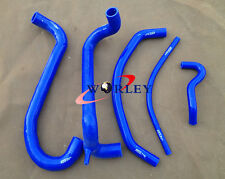 Silicone Radiator Heater Hose For FORD AU FALCON 4.9L V8 INC XR8 1998-2002 BLUE