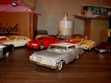 1961 Ford Galaxie 2-dr HT 1/25 scale friction model car - overall nice car