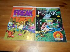 2X Freak Brothers - Rip Off Press - #3 1980 $2 Cover - 1 that is 75 cent Cover