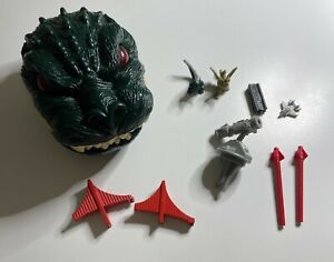 1994 TRENDMASTERS Godzilla vs Ghidorah San Francisco Micro Battle Playset Toho