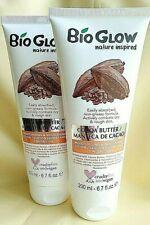 3 x 200ml VEGAN Bio Glow Cocoa Butter Moisturising Nourishing Body Lotion