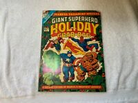 VINTAGE MARVEL TREASURY SPECIAL GIANT SUPERHERO Holiday Grab Bag 1974