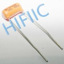 2PCS Sprague Orange Drop capacitor 715P 0.0022UF 222J 600V