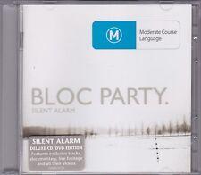 Bloc Party - Silent Alarm - CD & DVD (Wichita WEBB075CD8 Australia)