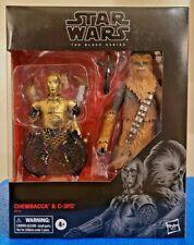 Star Wars The Black Series CHEWBACCA & C-3PO 2 Pack Amazon Exclusive Hasbro