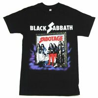Black Sabbath Sabotage Black T Shirt New Official Band Merch Album Art