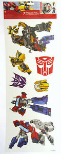 Transformers Sticker ~ Autobot Decepticon ~ 7 Wall Decals Autocollants