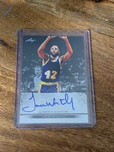 James Worthy 2013 Leaf Metal 27/50 Autograph (Auto) Card-LOS ANGELES LAKERS!!!