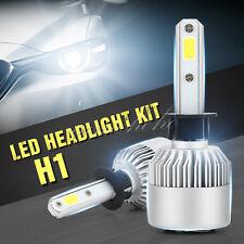 2X H1 200W 23800LM Low Beam COB LED White Headlight Conversion Fog Lamp Bulb KIT