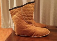 NEW BATES BOOT LINERS MILITARY Insulated QUILTED FIT LL BEAN  SOREL BOOTS 7 7.5