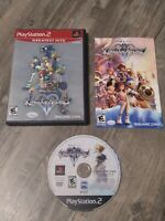 Kingdom Hearts II Sony PlayStation 2 2006 PS2 Complete CIB Greatest Hits Works