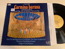 Carl Orff Carmina Burana LP Eurodisc STEREO Germany German M-!!!