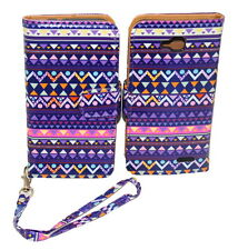 Stylish Tribal Design Wallet Leather Case for LG Optimus L90 with Kickstand