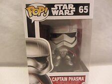 "Funko Pop! CAPTAIN PHASMA  4"" Star Wars  #65  Vinyl Figurine (1215SH)"