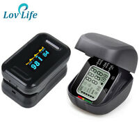 Blood Pressure Monitor Oximeter  Finger Pulse Oximeter display pulsioximetro